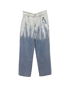 Feng Chen Wang WASHED JEANS / BLUE