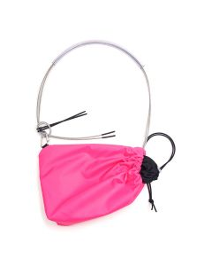 FORGET ME NOT LIGHT VERSION SERIES BAGS MEDIUM / PINK-BLACK