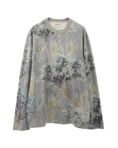 FEAR OF GOD SIXTH COLLECTION PRINTED LONG SLEEVE TEE / 340 : PRAIRIE GHOST CAMO