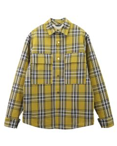 FEAR OF GOD SIXTH COLLECTION PLAID SHIRT JACKET / 750 : GARDEN GLOVE YELLOW PLAID