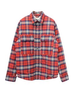 FEAR OF GOD SIXTH COLLECTION FLANNEL SHIRT JACKET / 640 : RED PLAID