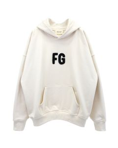 FEAR OF GOD EVERYDAY FG HOODIE / 110 : CREAM-BLACK