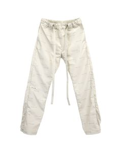 FEAR OF GOD SIXTH COLLECTION ALL OVER PRINT BAGGY NYLON PANT / 051 : BONE