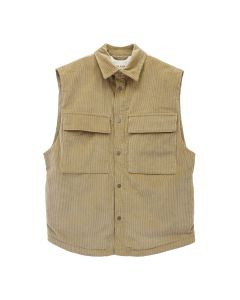 FEAR OF GOD CORDUROY VEST / 230 : TAN