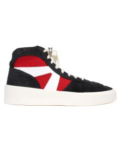 FEAR OF GOD SIXTH COLLECTION STRAPLESS SKATE MID / 005 : BLACK-RED-WHITE