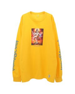 #FR2 SMOKING CHILLUM LONG SLEEVE T-SHIRT / 203 : YELLOW