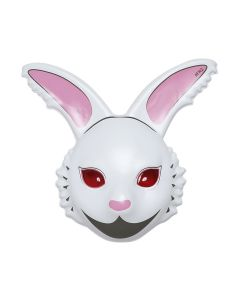 #FR2 FXXKING RABBITS FACE MASK / 001 : WHITE