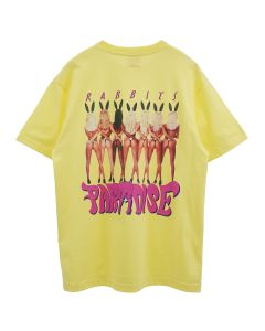 #FR2 x Made In Paradise MULTI RABBITS PARADISE T-SHIRT / 206 : LIGHT YELLOW