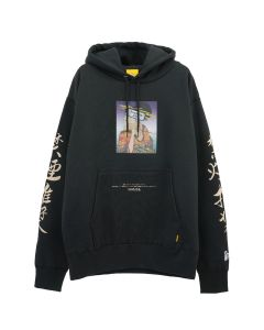 #FR2 UKIYOE SMOKING KILLS HOODIE / 029 : BLACK