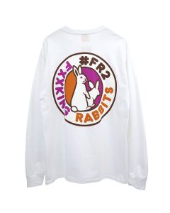 #FR2 ROUND ICON LONGSLEEVE T-SHIRT / 001 : WHITE