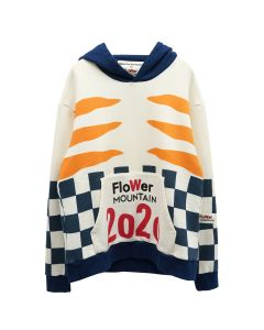 Walter Van Beirendonck for Flower MOUNTAIN TIGER HOODY / IVORY