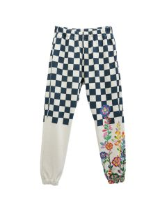 Walter Van Beirendonck for Flower MOUNTAIN SWEAT PANTS / IVORY-BLUE