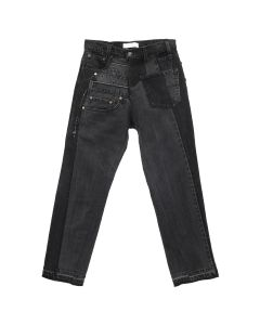 GAKURO DENIM PANTS [RAJN] 05 / BLACK
