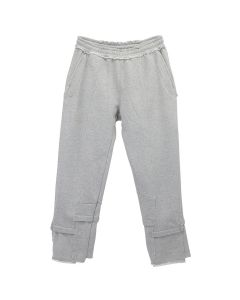 GAKURO DECONSTRUCTED SWEAT PANTS / GREY