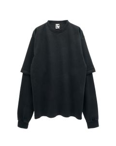 GR10K 8OZ DOUBLE UTILITY BM T-SHIRT / BLACK