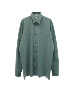GR10K ULTRASOOUND TAILORED SHIRT I / SAGE