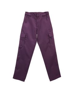 GR10K KLOPMAN DOUBLE POCKET STOCK CARGO PANT / PURPLE