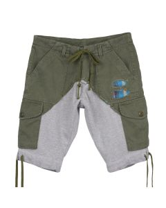 Greg Lauren CARGO SHORT / ARMY-GREY
