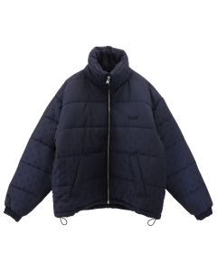 GmbH OVERSIZED PUFFER JACKET / NAVY