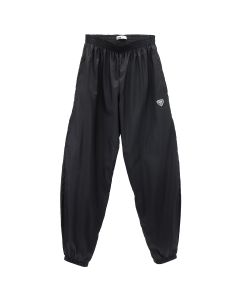 GmbH JOGGING TROUSERS w/SHIELD LOGO / BLACK