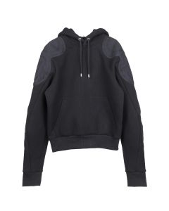 GmbH HOODIE WITH PATCHES / BLACK