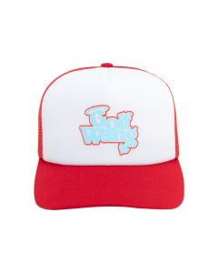 GOLF WANG LITTLE SHIT TRUCKER HAT / RED