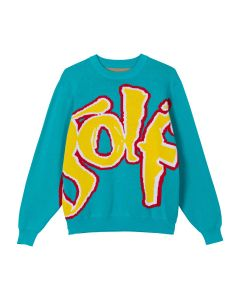 GOLF WANG SAFARI SWEATER / BLUE