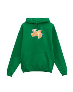 GOLF WANG LITTLE SHIT GLITTER HOODIE / KELLY GREEN