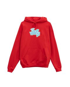 GOLF WANG LITTLE SHIT GLITTER HOODIE / RED
