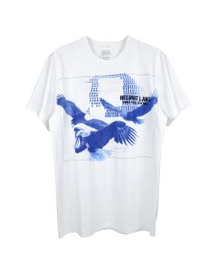 HELMUT LANG EAGLE SLUSH STANDARD TEE / 001 : CHALK WHITE
