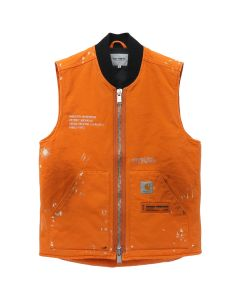 HERON PRESTON x Carhartt WIP HP x Carhartt VEST / 1996 : ORANGE CRYSTAL