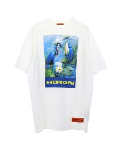 HERON PRESTON OVER TSHIRT SS PERMANENT / 0288 : OFF WHT MULTICOLOR