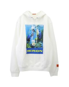 HERON PRESTON HOODIE PERMANENT / 0288 : OFF WHT MULTICOLOR