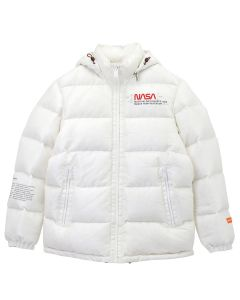 HERON PRESTON NASA SPACE JACKET / 0288 : OFF WHT MULTICOLOR