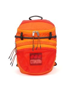 HERON PRESTON FOLDABLE BACKPACK DOTS CTNMB / 1988 : ORANGE MULTI COLOR