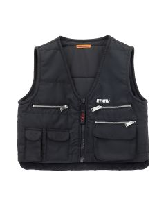 HERON PRESTON MULTIPOCKETS VEST FIRE / BLK MULTICOLOR