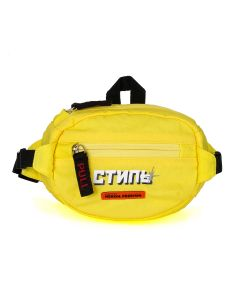 HERON PRESTON MINI FANNY PACK CTNMB / 1501 : GREEN YELLOW WHITE