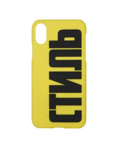 HERON PRESTON CTNMB IPHONE COVER XS / 1510 : GREEN YELLOW BLACK