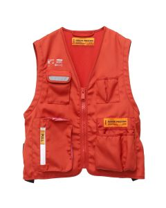 HERON PRESTON NYLON TOOL VEST JACKET / 2027 : RED PINK