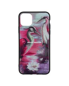 HERON PRESTON IPHONE COVER 11PROMAX HERON TIMES / 3001 : PINK WHITE