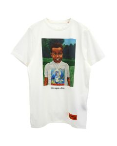 HERON PRESTON T-SHIRT REG BABY HERON / 0188 : WHITE MULTICOLOR