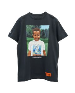 HERON PRESTON T-SHIRT REG BABY HERON / 1088 : BLACK MULTICOLOR