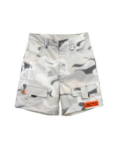 HERON PRESTON CARGO SHORTS CAMO / 8801 : MULTICOLOR WHT
