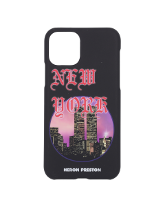 HERON PRESTON IPHONE COVER 11 PRO NYC SKYLINE / 1088 : BLACK MULTICOLOR