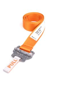 HERON PRESTON KK TAPE BELT 3CM / 19C1 : ORANGE CONCRETE