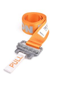 HERON PRESTON REFLECTIVE TAPE BELT / 19C1 : ORANGE CONCRETE
