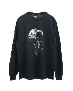 HOCKEY FECKE L/S TEE / BLACK