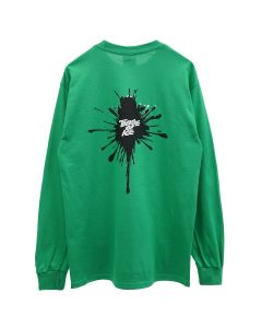 HOCKEY THEATRE OF ICE L/S TEE / FLASH GREEN