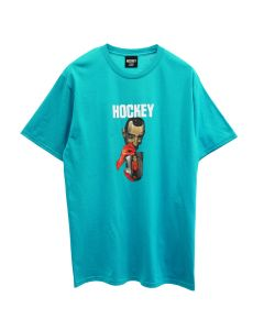 HOCKEY POINT BREAK TEE / AQUA BLUE