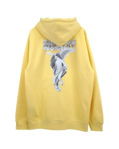 HOCKEY ANGEL HOODIE / YELLOW